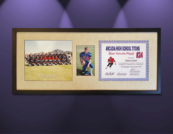 Acrcadia Footbal Framing